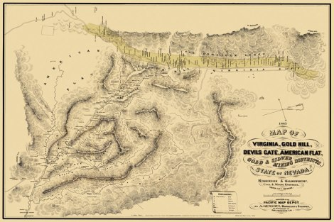 Nevada mines in the 19th century.