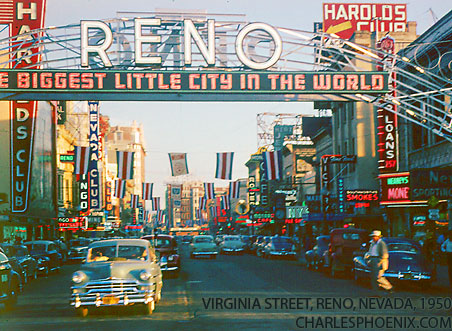 This is one of Nevada's first cities in 1950.