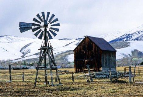 arid land Nevada